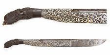 Antique Sinhalese Pia Ketta Knife Sri Lanka Dagger Indian Khanjar Kastane Ceylon