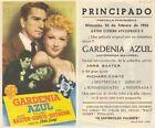 Programa PUBLICITARIO de CINE: Gardenia Azul.