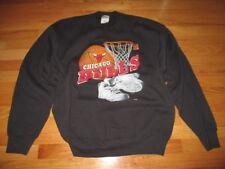 Vintage 90s Pro Player CHICAGO BULLS (XL) Sweatshirt MICHAEL JORDAN