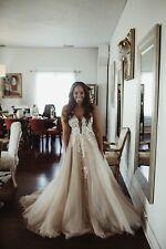 Vagabond Bridal Luna Wedding Gown In Blush From Lovely Bride