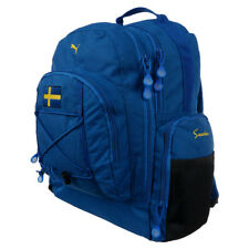 PUMA Backpack Sweden Sports Bag School Gym Bags Travel Rucksack Blue Training