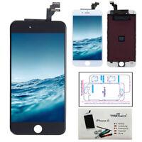 """Ecran LCD Vitre Tactile Retina iPhone 6 (4,7)"""" Facade Noir / Blanc Haute Qualité"""