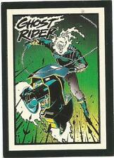 1992 Comic Images Ghost Rider II Glow in the Dark #G3 My Arsenal Trading Card