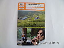 Fiche cinema card 2007 la foret de mogari shigeki uda machiko ono m. watanabe