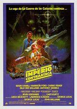 POSTER STAR WARS EL IMPERIO CONTRAATACA (1980) HARRISON FORD - SPAIN 18TW46