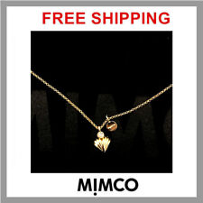 ������ Mimco Long Gold/Brass Necklace + Dust Bag