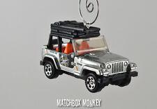 Custom Jeep Wrangler Christmas Ornament 1/64 Adorno SUV Rubicon YJ Sahara TJ XJ