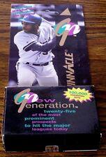 1994 Pinnacle New Generation Numbered Baseball Set-Factory Sealed Box!