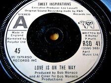 """Sweet Inspirations-El amor es en la forma de vinilo de 7"""""""