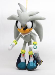 "Silver the Hedgehog Plush 13"" Sonic the Hedgehog GE-8960 GE Animation"