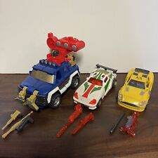 Transformers Energon Deluxe Powerlinx LOT Of 3 - Ironhide, Hot Shot, Downshift