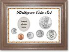 Framed Deluxe Birth Year Coin Gift Set, White, 2016