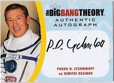 THE BIG BANG THEORY SEASONS  6 & 7 PDL2 PASHA D. LYCHNIKOFF DIMITRI AUTOGRAPH
