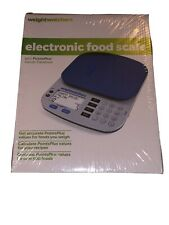 Weight Watchers Electronic Food Scale W/ Points Plus Values Database New