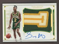 2015-16 National Treasures Colossal Gary Payton AUTO Patch 15/25