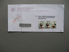 INDONESIA, R-cover to the Netherlands 2001,  bird duck