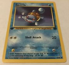 Pokémon Squirtle 68/82 Team Rocket 1st Edition Common Card NM/M