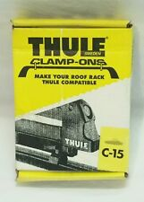 Thule C15 Clamp-Ons, Connect Thule Ski Carriers to Factory Installed Racks NIB