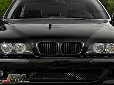 1997-2003 BMW E39 5-Series 528i 530i 540i M5 Matte Black Front Grille Kidney