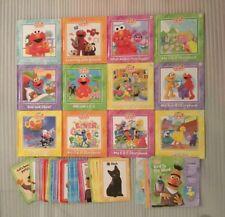 Sesame Street Elmo's Learning Adventure Books/Flash Cards/ Activity Books
