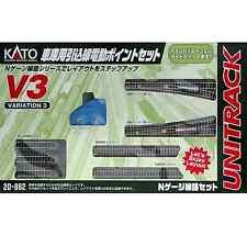 Kato 20-862 Unitrack V3 Voies de Garage / Rail Yard Switching Track Set - N
