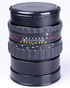 Rollei Sonnar 150mm F4 HFT. PQ lens in nice condition.For use with the 6000/6008