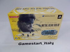 CONSOLE METAL GEAR SOLID PEACE WALKER PREMIUM PACKAGE - SONY PSP - NEW - RARE