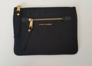 Marc Jacobs Flat Nylon Pouch Black