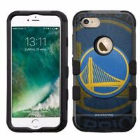 for Apple iPhone 8 Plus Armor Rugged Hard Hybrid Case Golden State Warriors #BG