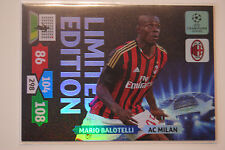 Mario Balotelli Limited Edition - Panini Adrenalyn XL Champions League 2013/14
