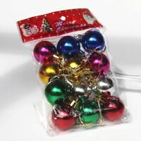 12-Pack Trendy Clip On Beard Baubles Decorations Secret Santa Xmas Present Gifts