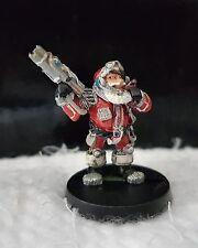 Citadel Games Workshop Warhammer40k Dwarf Space Santa Metal Oop Rare Cool 1985