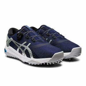 ASICS GEL COURSE DUO BOA GOLF SHOES NEW 2021 PEACOAT/PURE SILVER - PICK SIZE