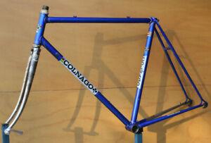 Vintage 1977 Colnago Super Columbus steel frame frameset 55 cm Campagnolo