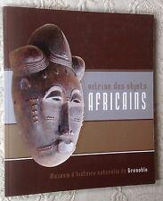ART artisanat AFRICAIN catalogue Musée Grenoble 2007 VITRINE OBJETS AFRICAINS