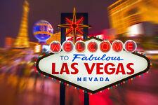 Fototapete-FABULOUS LAS VEGAS-(395P)-350x260cm-7 Bahnen 50x260cm-Casino Nevada