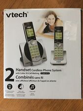 VTech CS6919-2 DECT 6.0 Cordless Phone with 2 Full Duplex Handsets - Silver