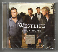 WESTLIFE - Back Home - 2007 CD Album  (New & Sealed)   *FREE UK POSTAGE*