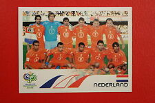PANINI FIFA WORLD CUP GERMANY 2006 06 N. 226 NEDERLAND TEAM  MINT!!!