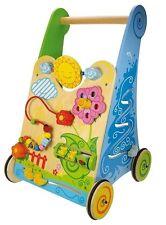 Bigjigs Toys BB021 Entdecker-Lauflernwagen NEU OVP!