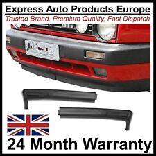 Big Bumper Chin Spoiler Splitter set VW Golf Mk2 Lo-Wide Euro Look