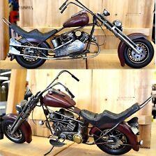 Bike Chopper XXL 49 cm lang !!! Motorrad Blechmodell Deko Dekoration Modell NEU