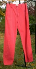 Talbot's Vintage High Rise Jeans Size 12 Red