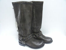 Women's Frye Harnes Boots Brown Leather Size 6