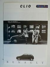 Prospekt Renault Clio Bebop, 7.1994, 6 Seiten, folder