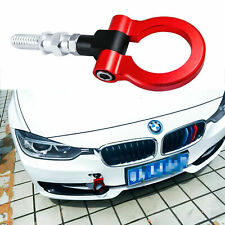 Red Track Racing Style Aluminum Tow Hook For BMW F30 F35 F10 3 4 5 Series