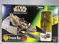 1997 Kenner | Star Wars Expanded Universe | Speeder Bike With Bonus Pilot