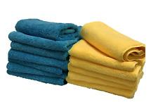 "Microfiber Towels Premium High Absorbent Quality ""16x16"" 400 GSM"