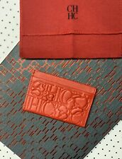 Business Card Holder Carolina Herrera New Nwt Skin