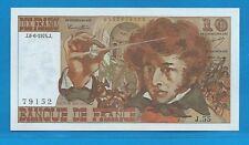 GERTBROLEN  10 FRANCS ( BERLIOZ  ) du 6-6-1974  J.55 Billet N° 0135879152